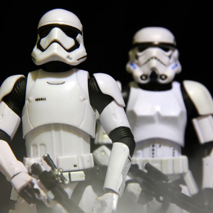 Besuch der Troopers