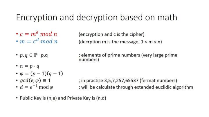 Encryption and Decryption based on Math