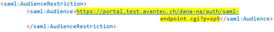SAML Response Code 5