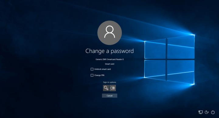 Smart Card Middleware Microsoft Bildfolge Nr. 1