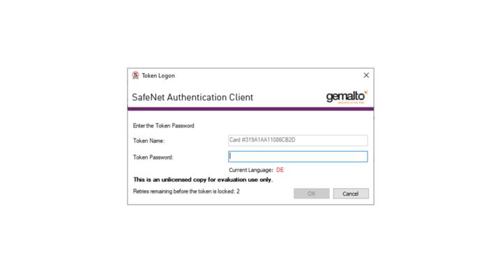 Smart Card Middleware SAC Bildfolge Nr. 1