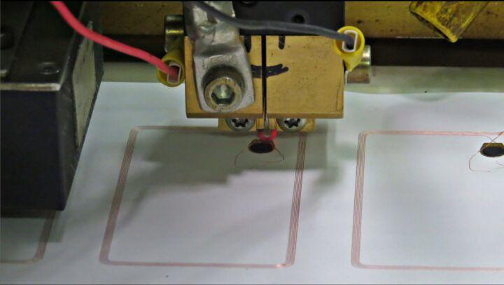 Bildfolge Kartenproduktion Smart Card Bild 11