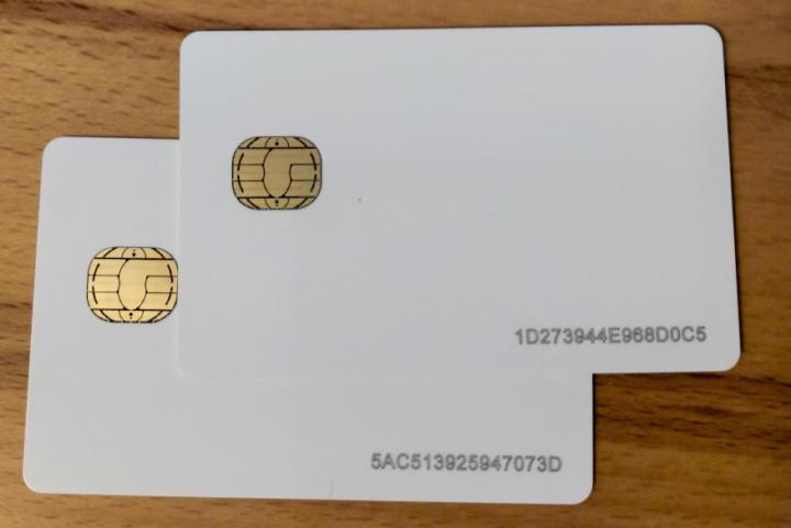 Smart Card Laser Engraving